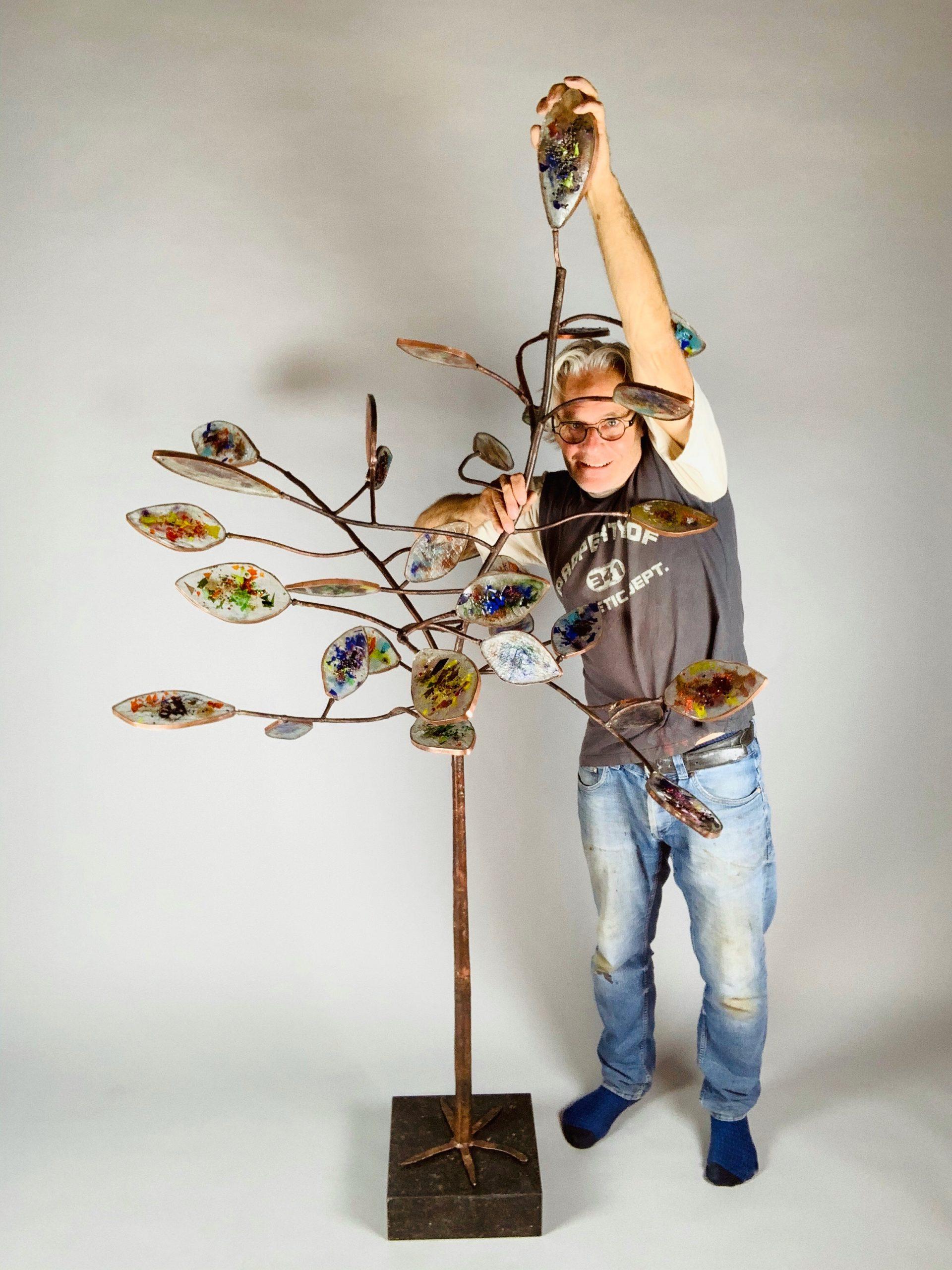Tree of life 2,05 hoog x1,45x1,35 SJAAK SMETSERS 2