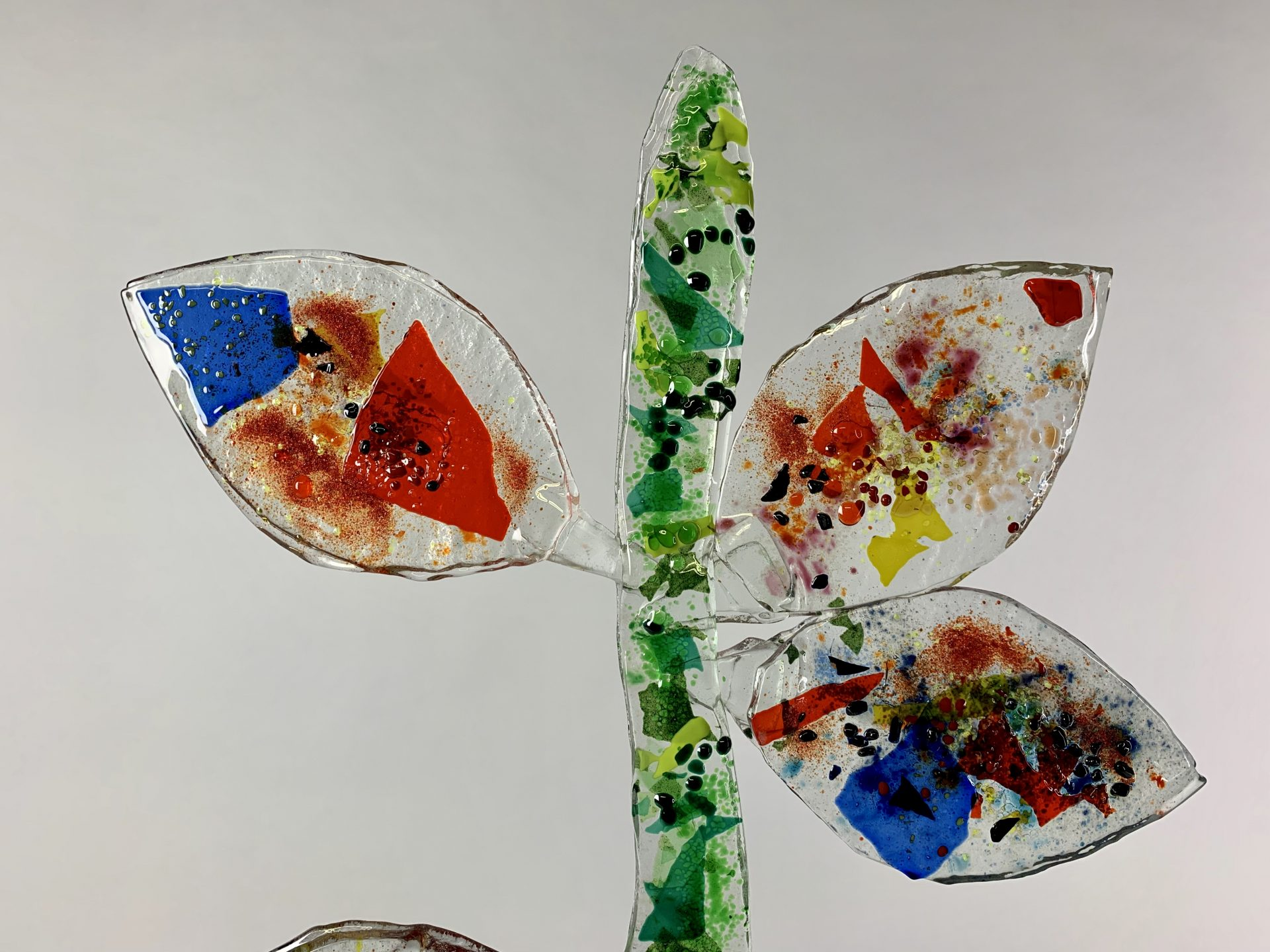 Tree of life 71x38x15 cm glas brons 4 SJAAK SMETSERS