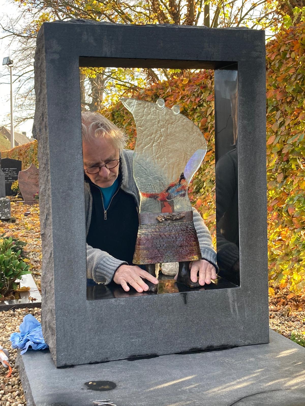 Kunstwerk Ton Franssen Kessel Hannie2