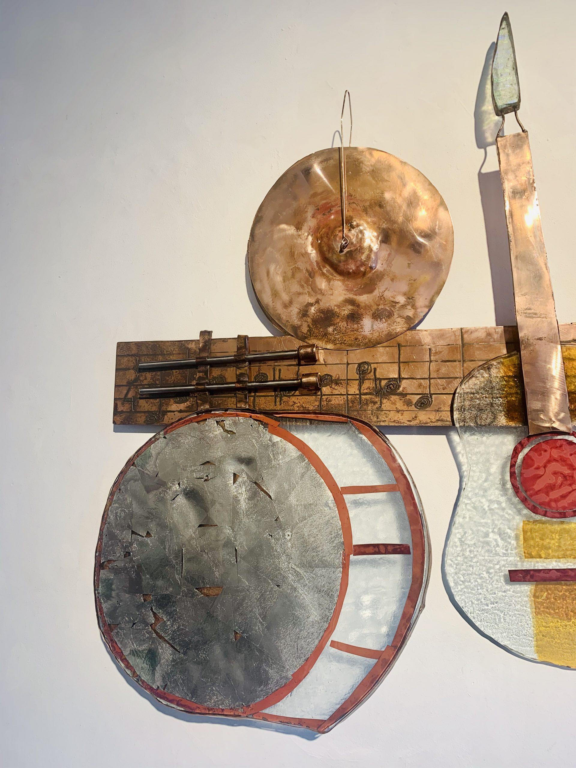 Wandobject muziekinstrumenten klant Funs Uiting SJAAK SMETSERS3