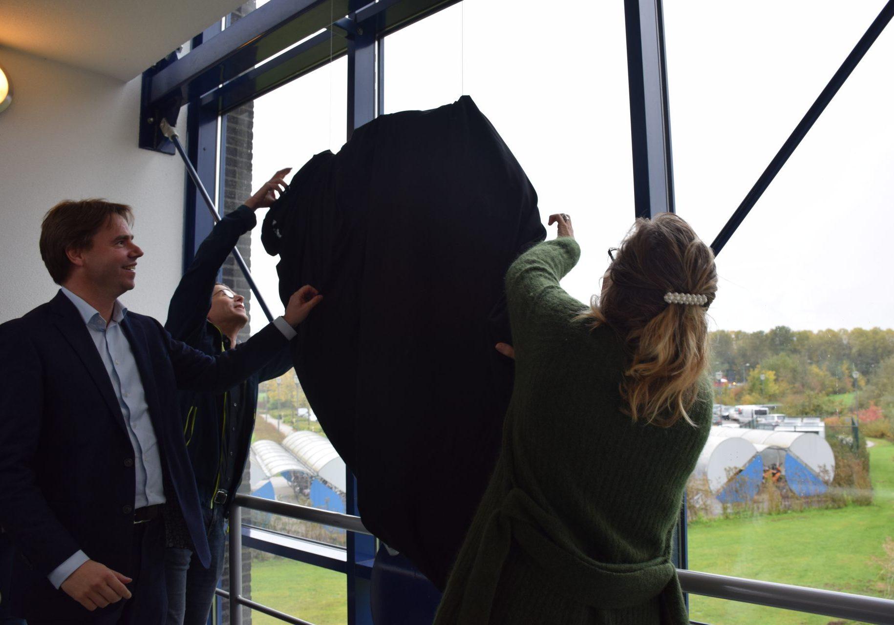 Onthulling kunstwerk Sjaak Smetsers november 2019 Bavaria1